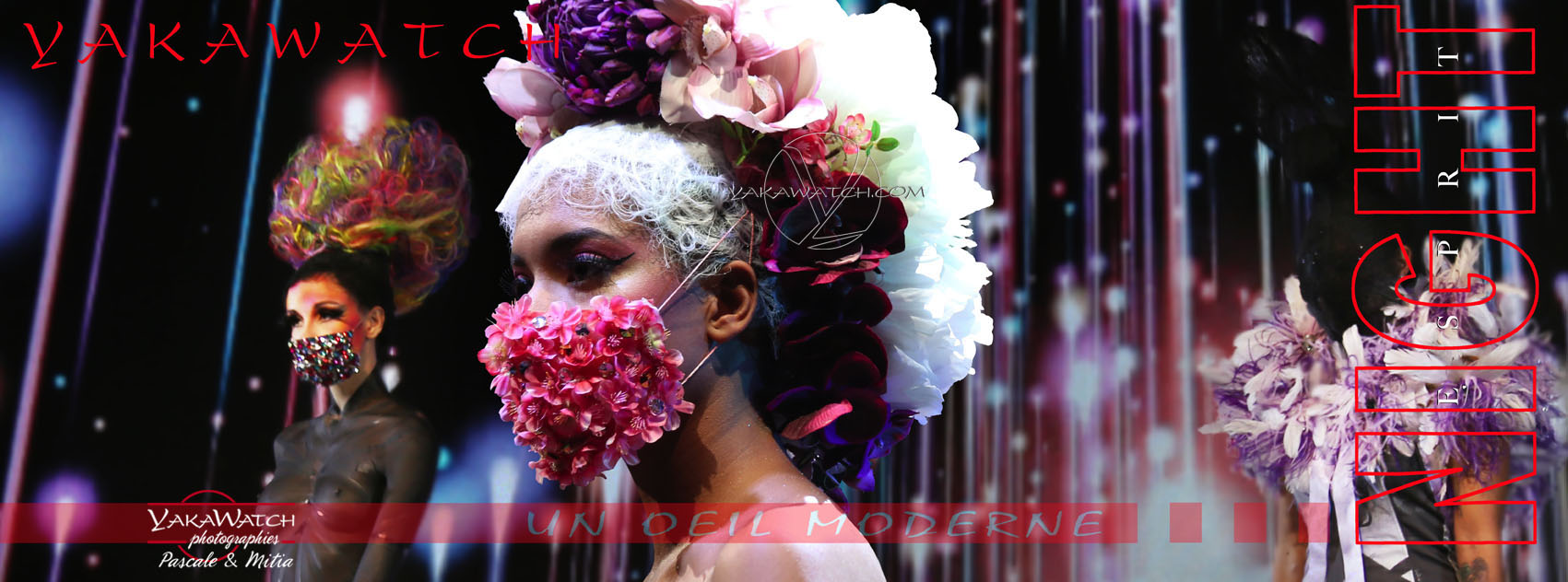 Masques de printemps - Morgane Hilgers MUA - MCB Paris 2018