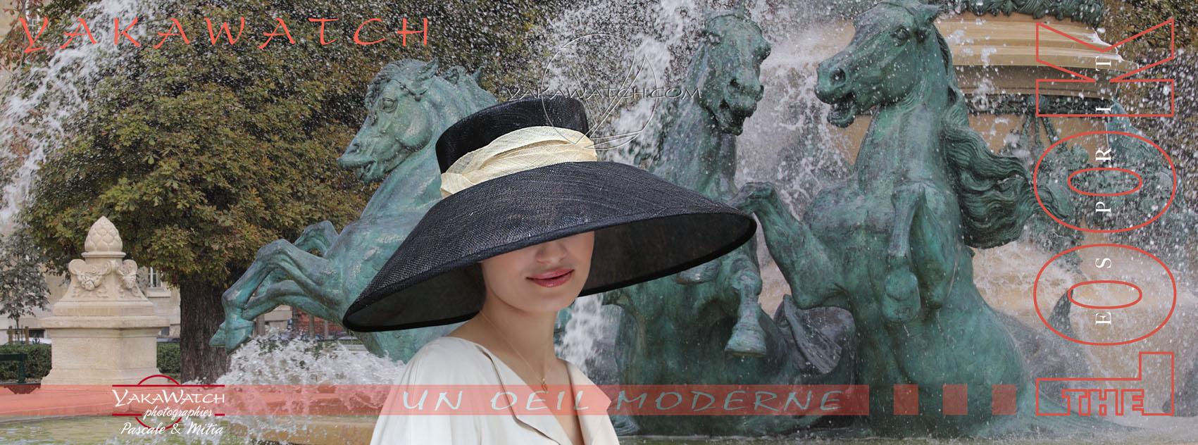 Mode Lifestyle - Chapeau - Fontaine de l'Observatoire - Mitia-Arcturus Photographe