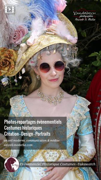 Photos-reportages évènementiels - Costumes historiques - Yakawatch, un oeil moderne, communication & médias